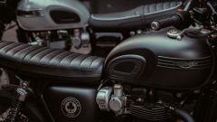 """Triumph Bonneville T120 Ace con autentico stemma """"4 Bar"""" sul serbatoio"""