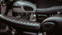 Triumph Bonneville T120 Ace: dettaglio