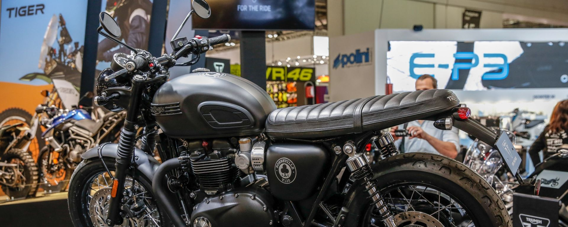 Triumph Bonneville T120 Ace: edizione limitata a Eicma 2018 [VIDEO]
