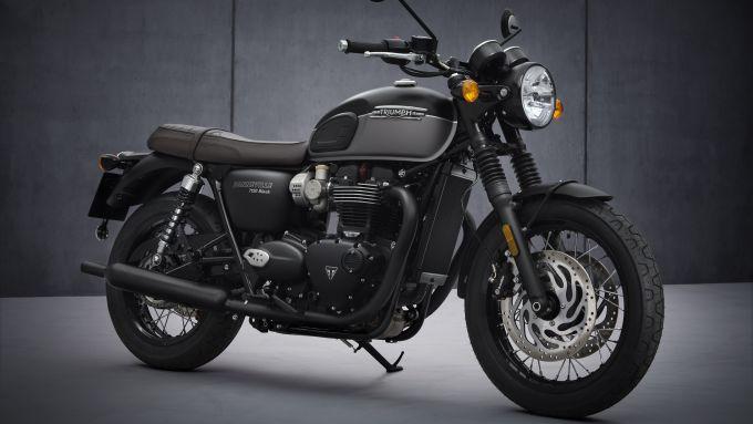 Triumph Bonneville T120 Black 2021