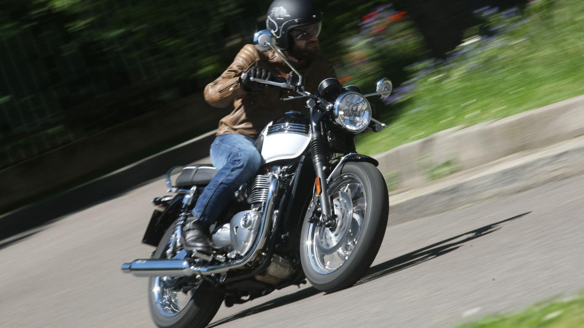 Motorbox Prova La Su Prova Bonneville Strada Triumph T120 X0441fwq