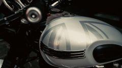 Triumph Bonneville T120 Diamond Edition dettaglio serbatoio