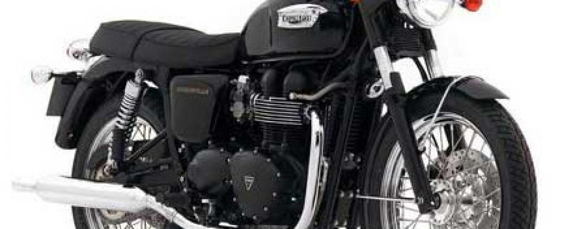 Triumph e Bitubo partner sul modello Bonneville