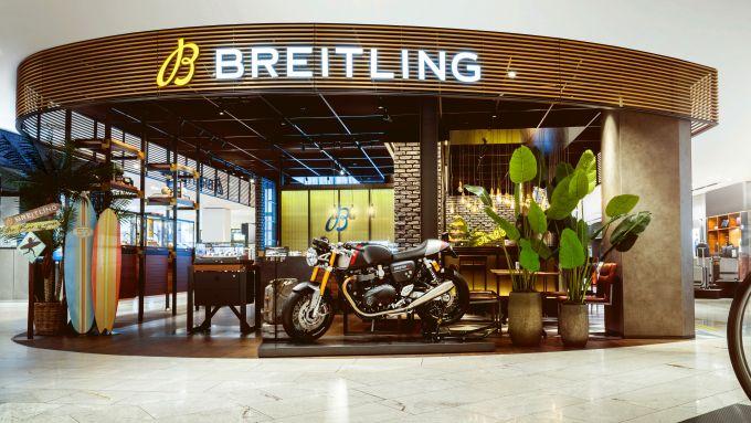 Triumph e Breitling insieme