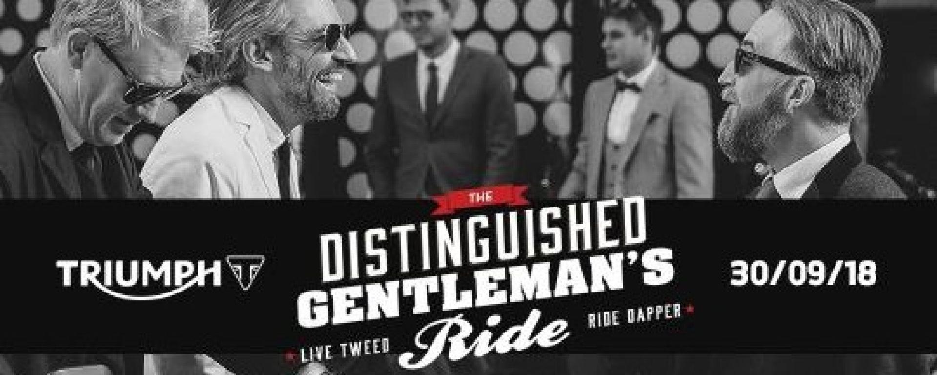 Triumph è il main sponsor del Distinguished Gentleman 2018