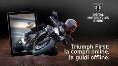 Triumph First, il servizio di acquisto moto online nuove e usate