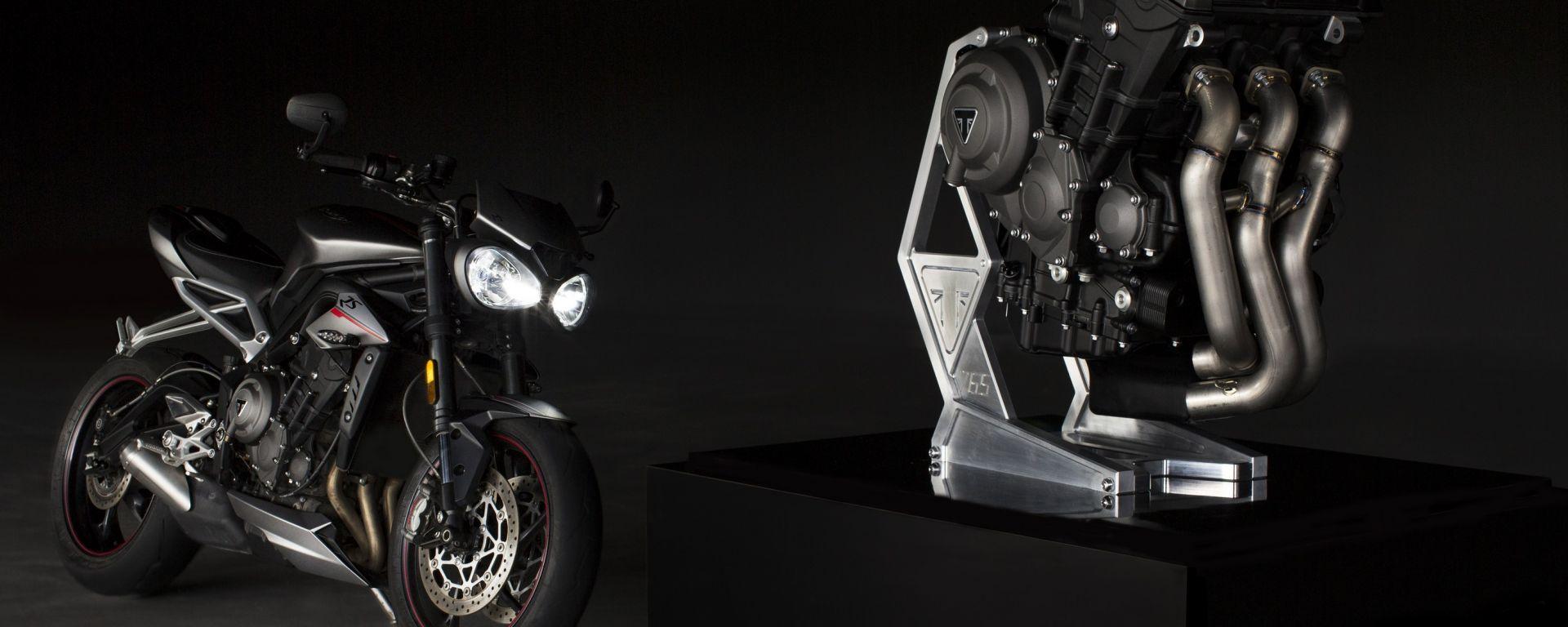 Triumph: fornitore esclusivo dei motori per il campionato Moto2