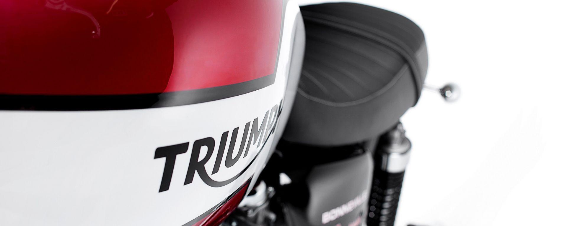 Triumph: le promozioni di gennaio 2016