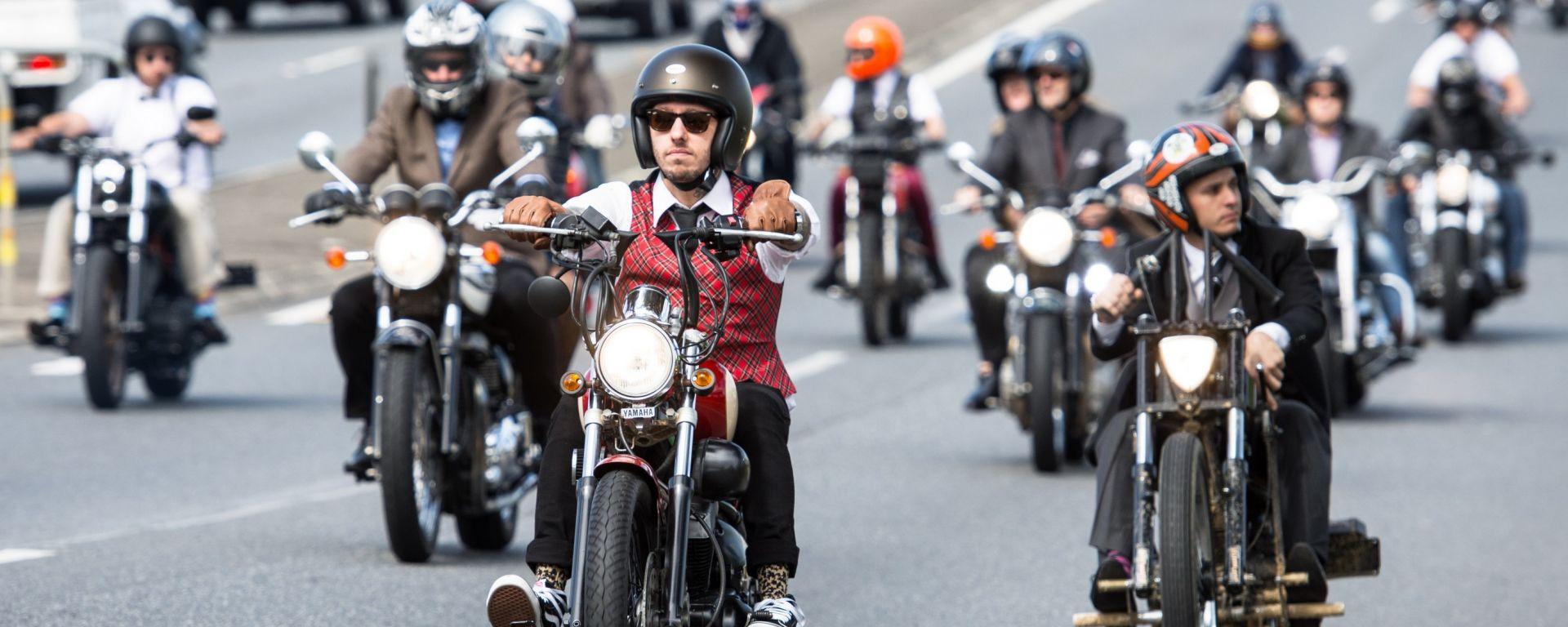 Triumph: per il 5° anno con la Distinguished Gentleman's Ride