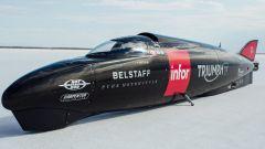 Triumph: record di velocità a Bonneville rimandato a settembre - Immagine: 2