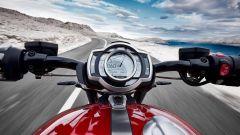 Triumph Rocket 3 GT e R 2019: la strumentazione digitale