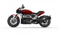 Triumph Rocket 3 R 2019: la vista laterale