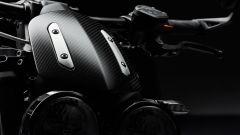 Triumph Rocket 3 TFC, dettaglio del cupolino in fibra di carbonio