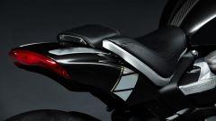 Triumph Rocket 3 TFC, dettaglio del fanale a LED posteriore