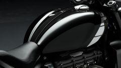 Triumph Rocket 3 TFC, dettaglio del serbatoio