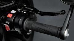 Triumph Rocket 3 TFC, dettaglio della pompa freno radiale Brembo a interasse variabile