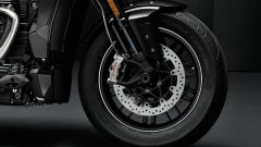 Triumph Rocket 3 TFC, dettaglio dell'avantreno