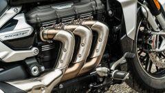 Triumph Rocket GT: i collettori di scarico sono un'opera d'arte