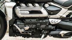 Triumph Rocket GT: ottime le finiture come da tradizione