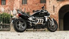 Triumph Rocket III GT: la prova video della power cruiser inglese - Immagine: 29