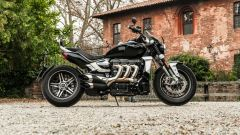 Triumph Rocket III GT: la prova video della power cruiser inglese - Immagine: 30
