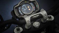 Triumph Scrambler 1200 2021: la strumentazione TFT
