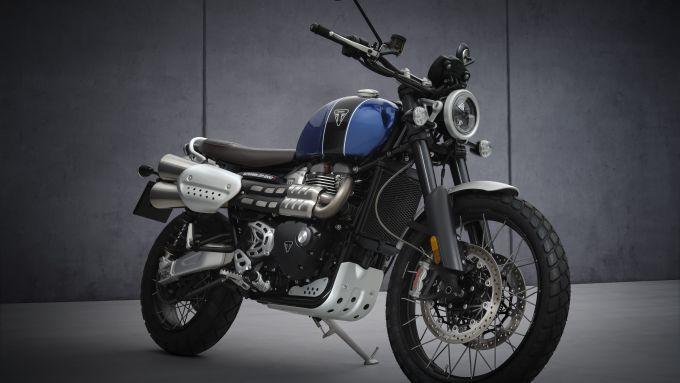 Triumph Scrambler 1200 2021: la XC