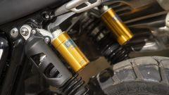 Triumph Scrambler 1200: il doppio ammortizzatore sviluppato da Ohlins