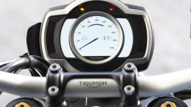 sTRUMENTAZIONE Triumph Scrambler 1200