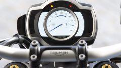 Triumph Scrambler 1200: strumentazione TFT