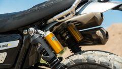 Triumph Scrambler 1.200 XE dettaglio ohlins!
