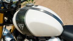 Triumph Scrambler 1.200 XE dettaglio serbatoio