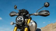 Triumph Scrambler 1.200 XE il frontale