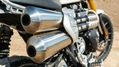Triumph Scrambler 1.200 XE lo scarico