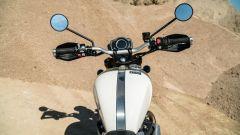 Triumph Scrambler 1.200 XE posizione di guida