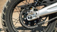 Triumph Scrambler 1.200 XE ruota posteriore