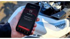 Triumph SOS, l'app avvisa i soccorsi in caso d'incidente