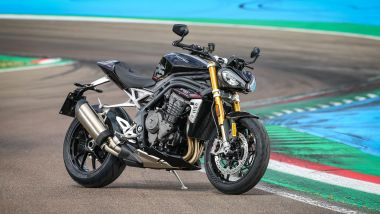 Triumph Speed Triple 1200 RS 2021 3/4 anteriore