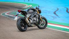 Triumph Speed Triple 1200 RS 2021 3/4 posteriore
