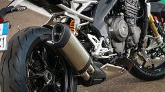 Triumph Speed Triple 1200 RS 2021 dettaglio dello scarico