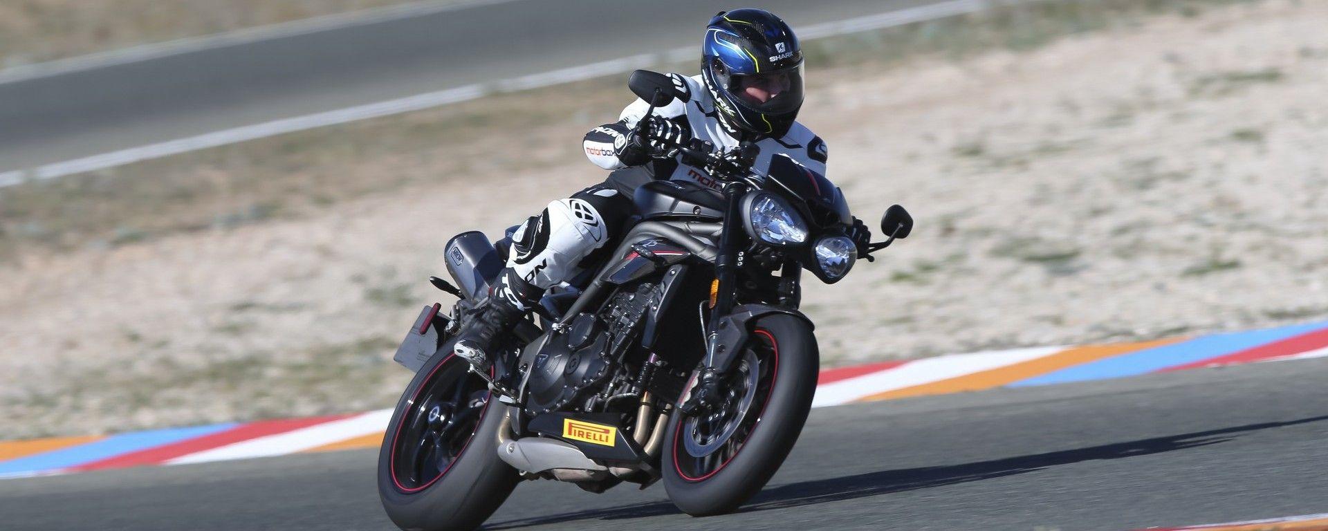 Nuova Triumph Speed Triple: la prova su strada