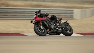 Triumph Speed Triple RR: la sportiva in pista