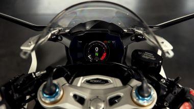Triumph Speed Triple RR: la strumentazione