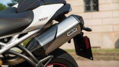 Triumph Speed Triple RS 2019: i terminali di scarico Arrow