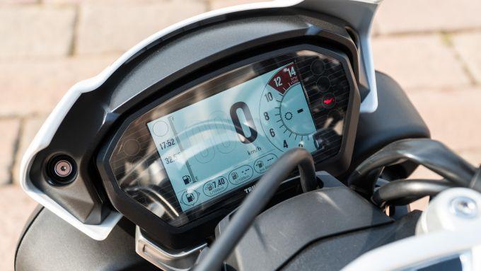 strumentazione triumph Speed Triple RS