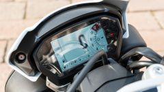 Triumph Speed Triple RS 2019: la strumentazione TFT da 5 pollici