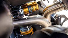 Triumph Speed Triple RS, ke sospensioni Ohlins della RS sono strabilianti per precisione e stabilità