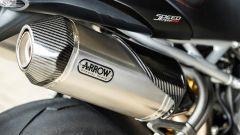 Triumph Speed Triple RS: la voce del tre cilindri accordata dagli scarichi Arrow è poesia uditiva