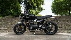 Triumph Speed Twin 1200: vista laterale