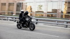 Triumph Speed Twin 2019 è comoda per l'uso in coppia